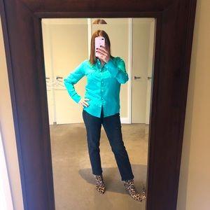 Silk J Crew blouse